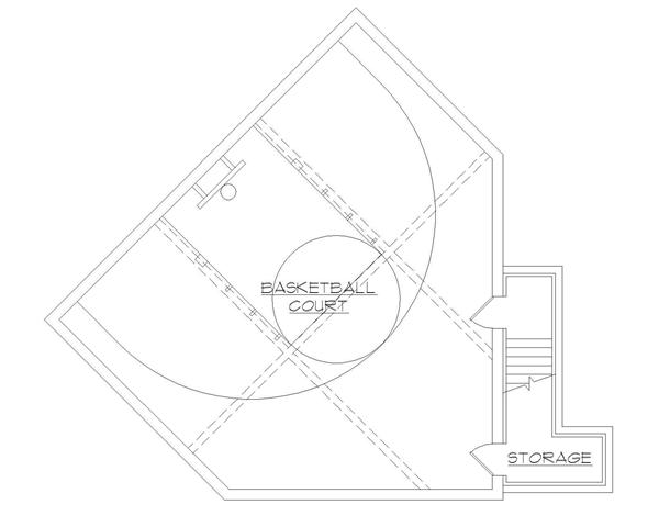 Superb House Plans With Basketball Courts