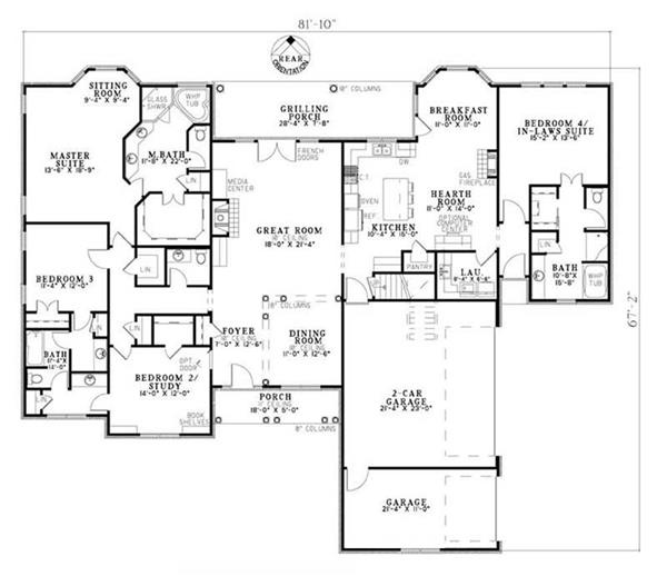 house plans with inlaw quarters why mother in law suites houseplans 6385